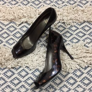 Stuart Weitzman Peep Toe Heels